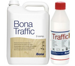 Паркетный лак Bona Traffic 4.95 л.