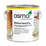 Цветное масло Osmo Dekorwachs Transparent (2.5 л)
