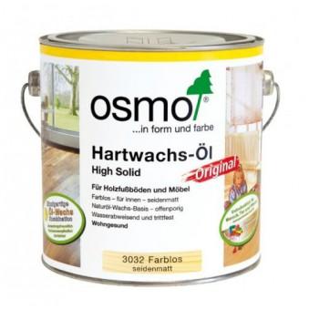 Масло с твердым воском Osmo Hartwachs-Ol (2.5 л)