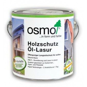 Защитное масло c эффектом серебра Osmo Holzschutz Ol-Lasur Effekt (2.5 л)