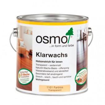 Масло с воском для твердых пород Osmo Klarwachs (2.5 л)