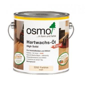 Масло с твердым воском быстросохнущее Osmo Hartwachs-Ol Rapid (2.5 л)