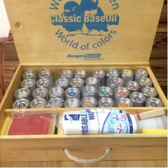 Набор пробников масла Berger (34 цвета)