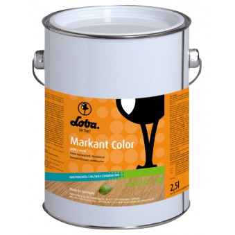 Цветное масло с воском Lobasol Markant Color (0.75 л)