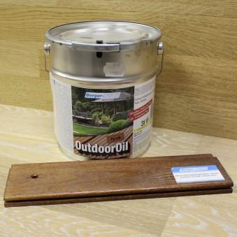 Цветное масло Berger OutdoorOil (1 л)