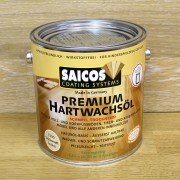 Масло с твердым воском Saicos Hartwachsol Premium (0.75 л)