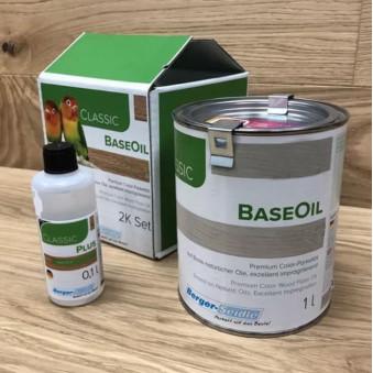 Бесцветное масло Berger Base Oil 2K (1.1 л)