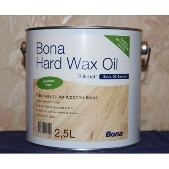 Масло с твердым воском Bona HardWax Oil (2.5 л)