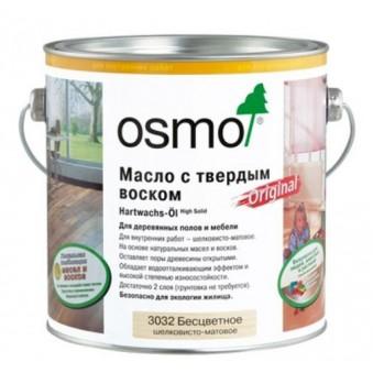 Масло с твердым воском Osmo Hartwachs-Ol (3 л)