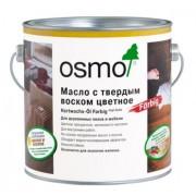 Цветное масло с твердым воском Osmo Hartwachs-Ol Farbig (0.75 л)