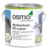 Защитное масло c эффектом серебра Osmo Holzschutz Ol-Lasur Effekt (0.75 л)