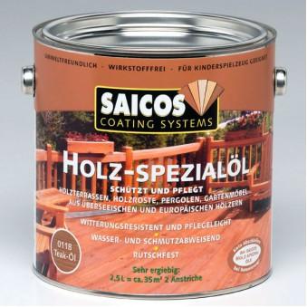 Масло для террас Saicos Holz-Spezialol (0.1 л)